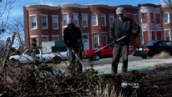 VIDEO: Army veterans help turn around their Baltimore neighborhood.