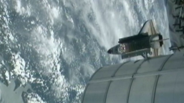 VIDEO: Endeavor Returns Home
