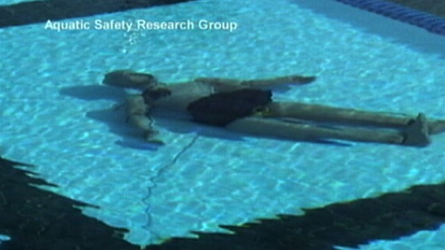 VIDEO: New technological breakthrough aims to keep young children safe while swimming.