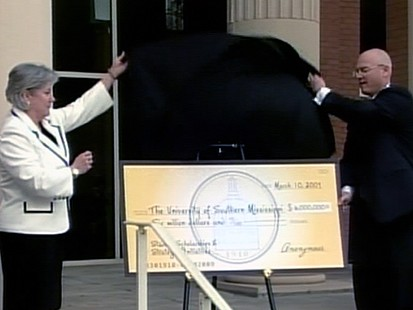 VIDEO: Anonymous Donors Secret Scholarships