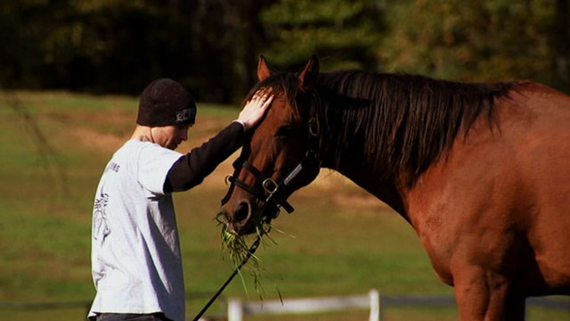VIDEO: Bob Nevins runs a program for Iraq war veterans called Saratoga War Horse.