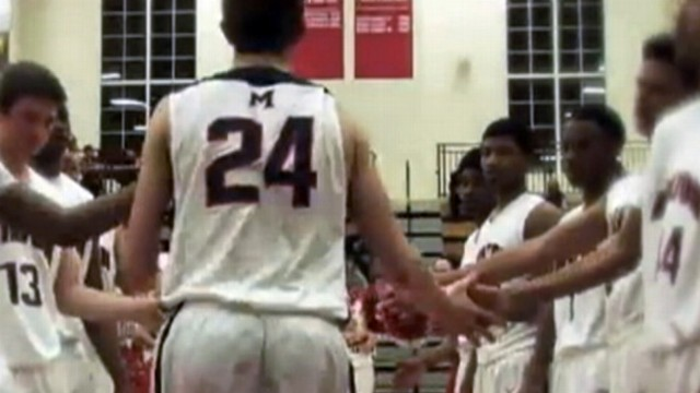 VIDEO: Born without the lower half of his left arm, he learned to adapt and excel at basketball.