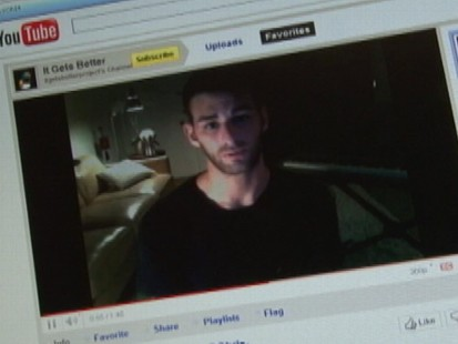 VIDEO: Columnist Dan Savage and Jeremy Hubbard talk about his project to help gay youth