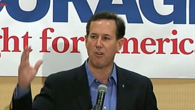 VIDEO: Did Rick Santorum go too far in his discussion of the president's beliefs?