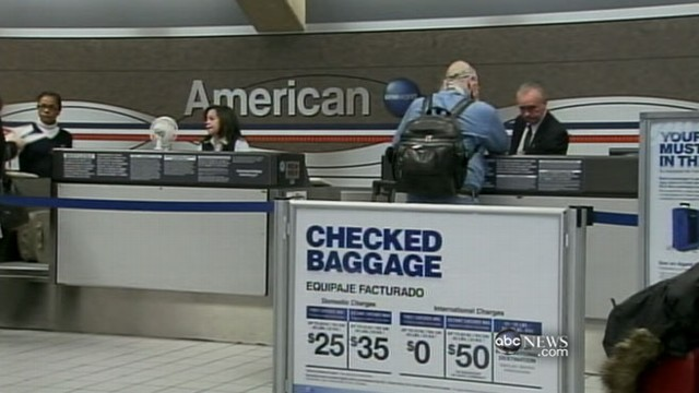 VIDEO: Fees for baggage and reservation changes account for airlines profits.