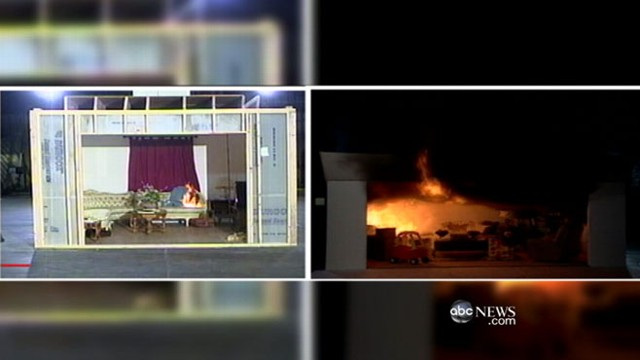 VIDEO: Newer houses are at greater fire risk during holiday season.