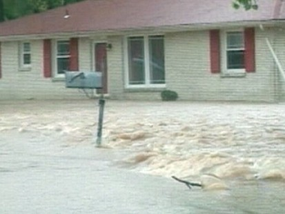 VIDEO: Two days of rain has devastated parts of Tennessee, Arkansas and Mississippi.