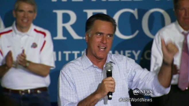 World News with Diane Sawyer: World News 9/26: Mitt Romney Responds to '47 Percent' Comment
