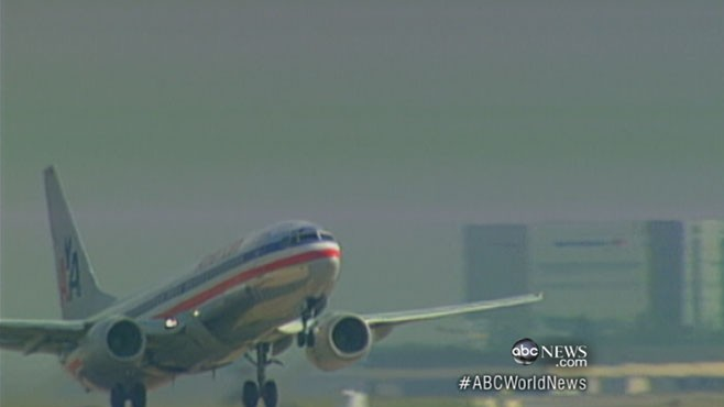 World News with Diane Sawyer: World News 10/1: American Airlines Seats Shake Loose in Flight