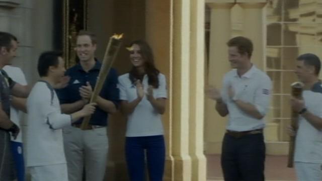 VIDEO: Olympians Michael Phelps, Jesse Williams, Gabby Douglas prepare to compete.