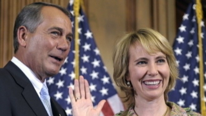 VIDEO: Gabrielle Giffords usually routine meetings with constituents turned tragic.