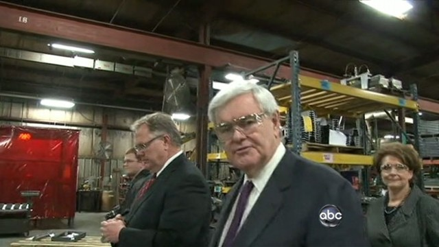 VIDEO: Latest GOP frontrunner Newt Gingrich is said to have received consulting money.