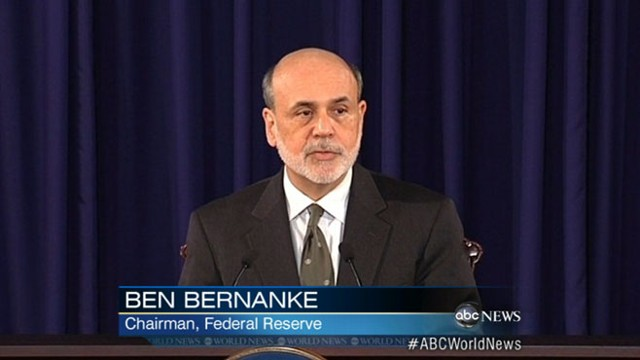"VIDEO: Federal Reserve Chairman Ben Bernanke cites ""grave concern"" about unemployment."