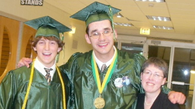 VIDEO: Autistic salutatorian Eric Duquette gave a memorable speech to his classmates.