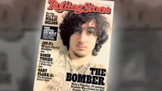 VIDEO: Two major retail chains have refused to carry the issue featuring Dzhokhar Tsarnaev.