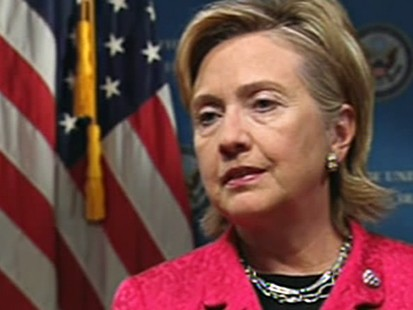 VIDEO: Hillary Clinton visits Iraq