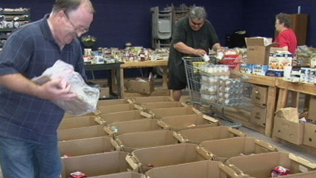 VIDEO: Americans have donated enough to get 1.6 million people the food they need.