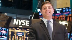 VIDEO: Charlie Reeder is part of an internship program at the NYSE for 28 returning war veterans.
