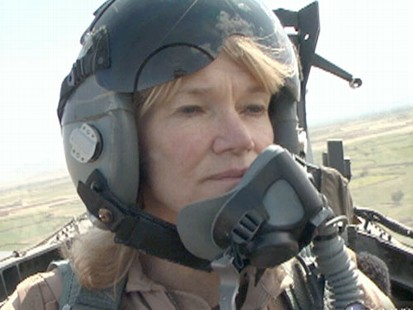 VIDEO: Martha Raddatz flies in an Air Force jet as pilots make critical decisions.