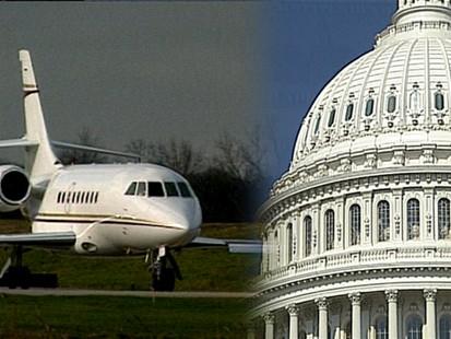 VIDEO: Senators Fly High on Your Tax Money