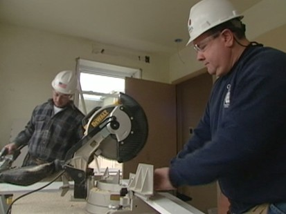 VIDEO: A closer look at jobs created by the economic stimulus program.