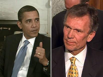 VIDEO: Stimulus Bill Clash, Daschle Debate