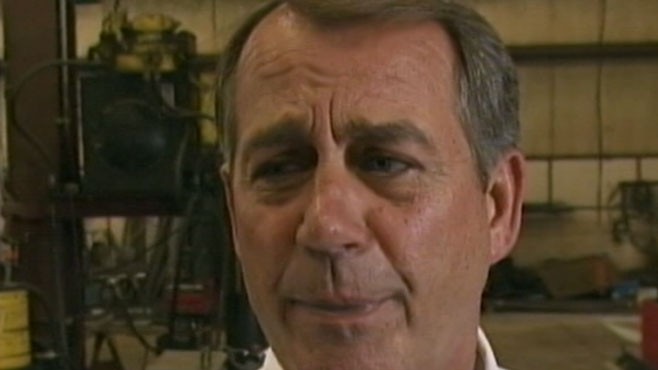 VIDEO: House Speaker John Boehner Interview