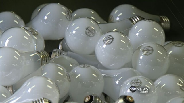 House spending bill strips funding to enforce ban on energy-wasting bulbs.