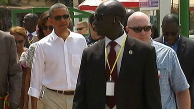 VIDEO: President calls Nelson Mandela a personal hero and hero to the world.