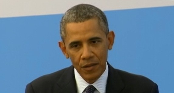 VIDEO: Hoping to convince world leaders a strike necessary as the Presidents support in Congress plunges.