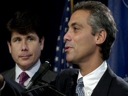 VIDEO: Obama reports on the Blagojevich scandal