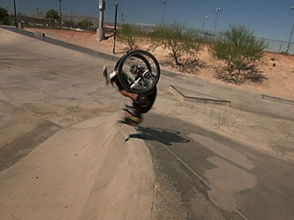 VIDEO: Spina Bifida cant stop Aaron Fotheringham from shredding.