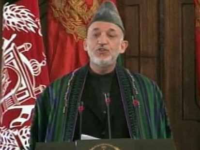 VIDEO: Afghan President Vows To Fight Corruption