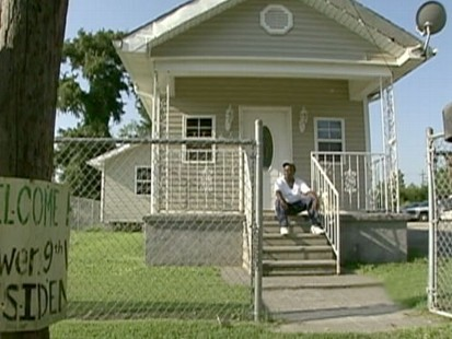 VIDEO: Harry Pryor stayed to save 400 of his neighbors in the 9th ward five years ago.