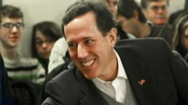 Your Voice Your Vote: Backing Santorum