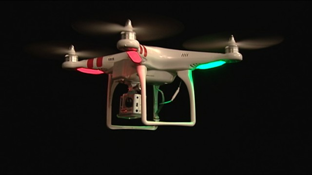 VIDEO: As small, remote-controlled drones become more popular, the danger for planes increases.