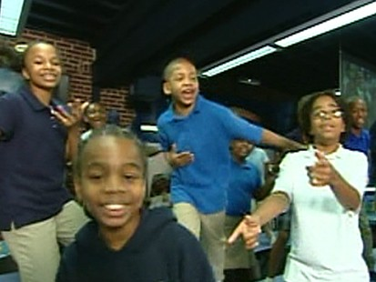 Students of Ron Clark Academy