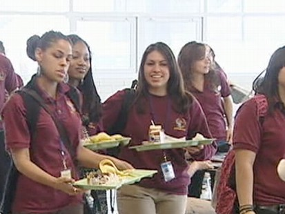 VIDEO: A group of Chicago students is fighting back against unhealthy school lunches.