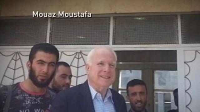 VIDEO: Senator met with rebel leaders Monday.