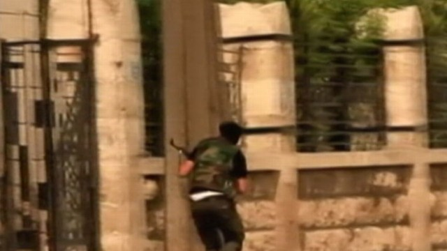VIDEO:Syrian rebels say they need more sophisticated weapons to combat oppressive army.