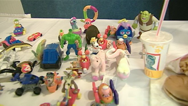 Food Fight Over Happy Meal Toys Video - ABC News