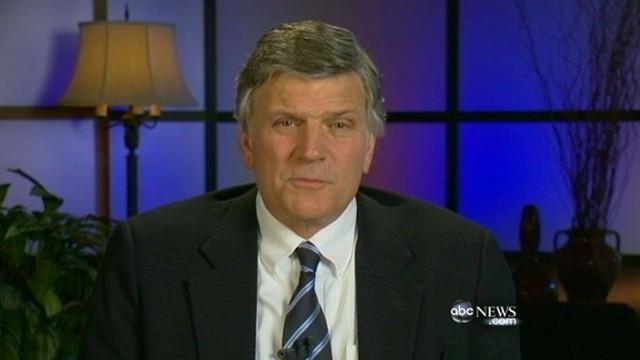 VIDEO: Franklin Graham weighs in on GOP contenders Mitt Romney, Newt Gingrich.