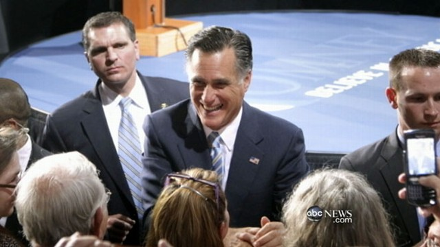 VIDEO: GOP frontrunner Mitt Romney reboots image following recent primary wins.