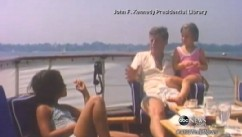 VIDEO: Sentimental journey back to 1963 shows JFK, family on summer vacation.