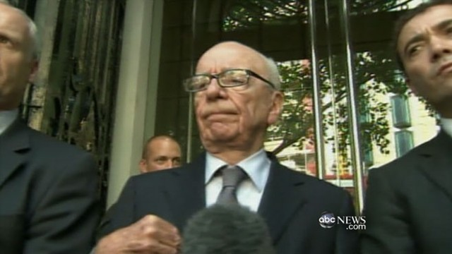 VIDEO: Media mogul addresses grieving family targeted by his papers reporters.