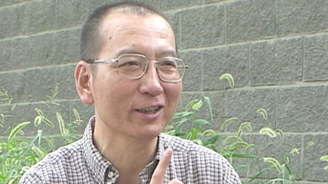 VIDEO: The Chinese Human Rights campaigner currently is imprisoned in China.
