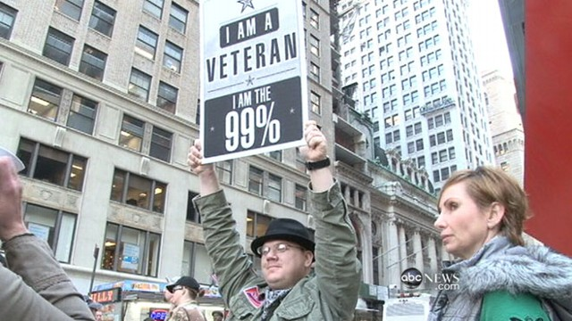 VIDEO: Military veterans and city workers join Occupy Oakland protests.