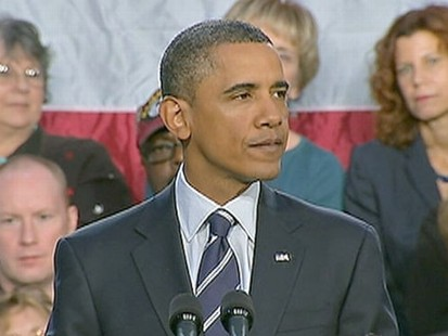 VIDEO: President Obama swings into campaign mode, calling out Republicans by name.