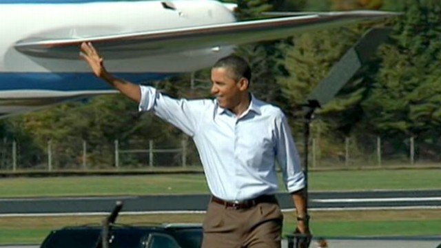 VIDEO: The president pushes his $447 billion jobs bill in North Carolina and Virginia.