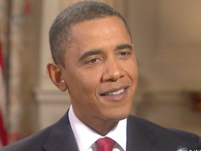 VIDEO: Diane Sawyer asks the president for his big game prediction.